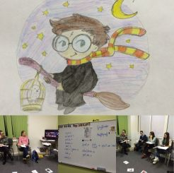 Harry Potter Class In Gold Experience B1+ Group